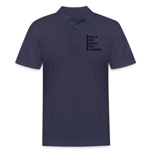 Meant For Climbing - Männer Poloshirt