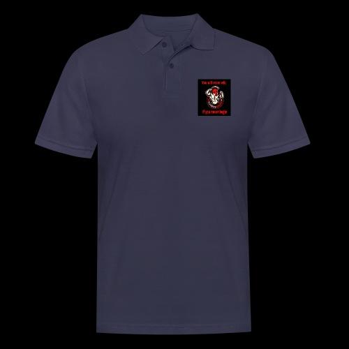 You will never win - Männer Poloshirt