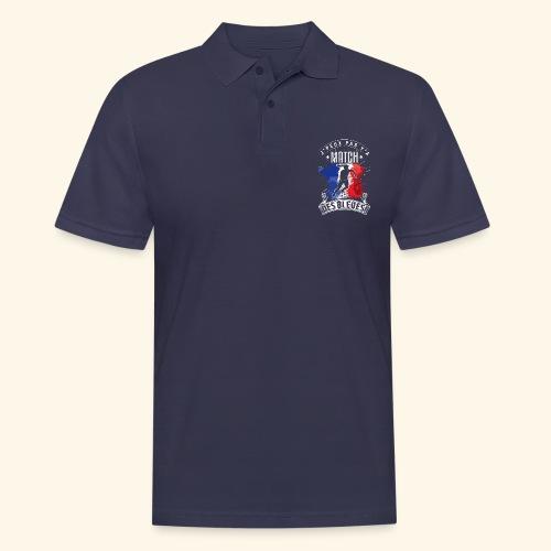 Les Bleues FOOTBALLEUSE - Equipe de France féminin - Polo Homme
