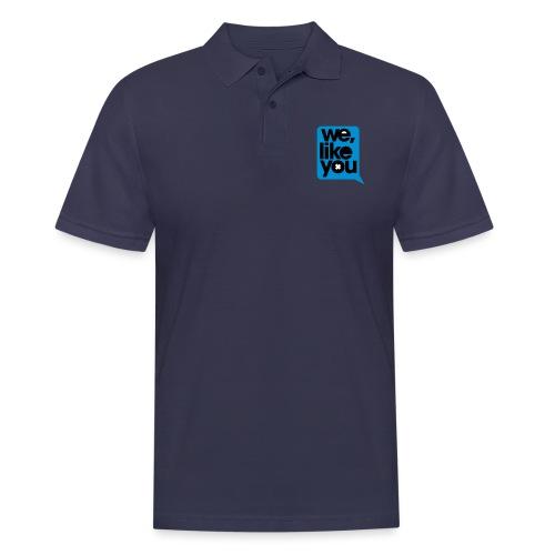 WLY SpeechBubble - Men's Polo Shirt
