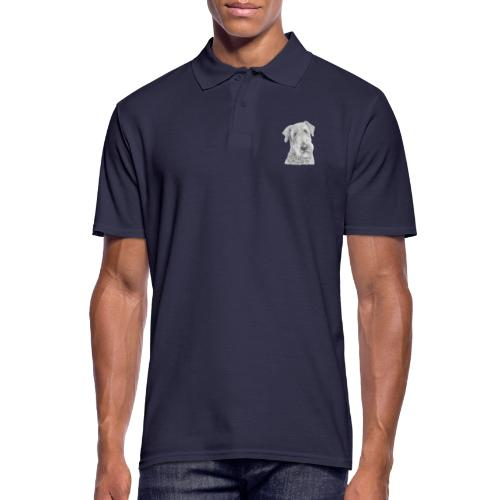 airedale terrier - Herre poloshirt