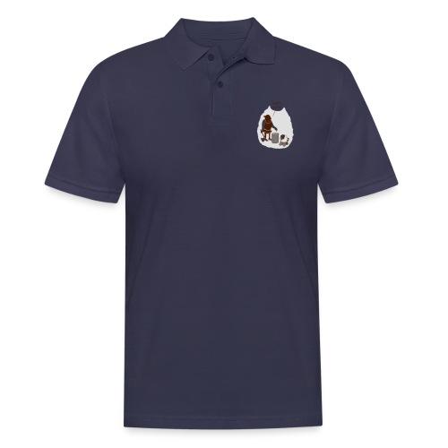 Kopf hoch - Männer Poloshirt