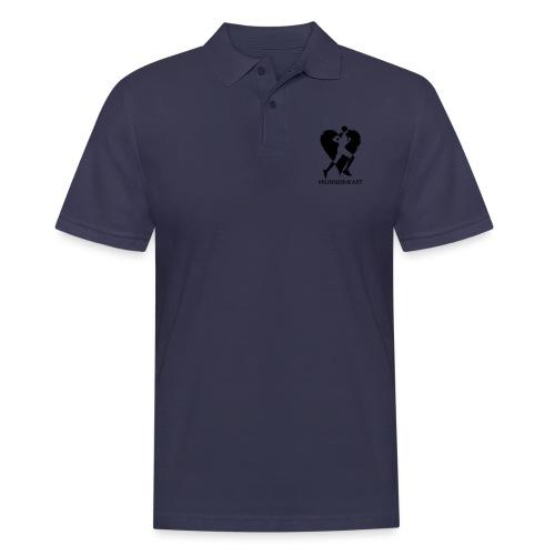 #Runnerheart man - Männer Poloshirt