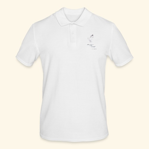 Mundus vult decipi (Ente) - Männer Poloshirt