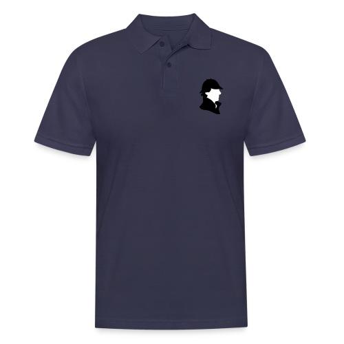 Sherlock Holmes Funny Hat - Männer Poloshirt
