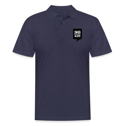 tshirtbackblack - Männer Poloshirt