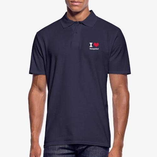 I love Tempelhof - Männer Poloshirt