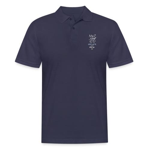 Crazy Unicorn - Dark - Men's Polo Shirt