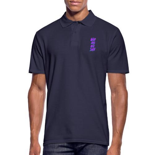 War Aus Wie Sau - Männer Poloshirt