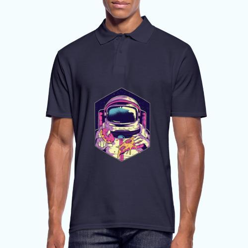 Fast food astronaut - Men's Polo Shirt