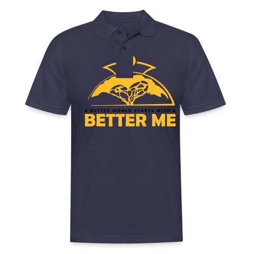 Better Me - White - Men's Polo Shirt