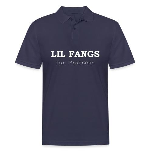 Lil Fangs for Praesens - White Text - Men's Polo Shirt