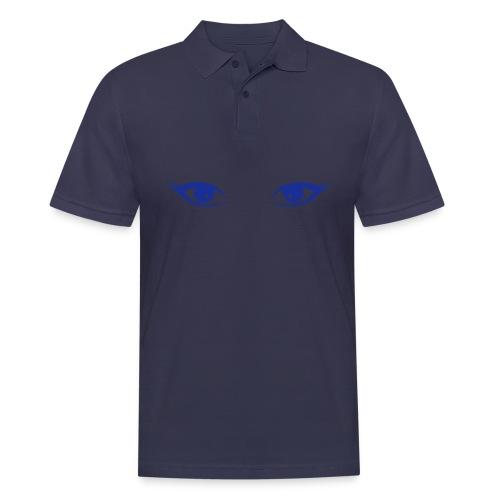 augen - Männer Poloshirt