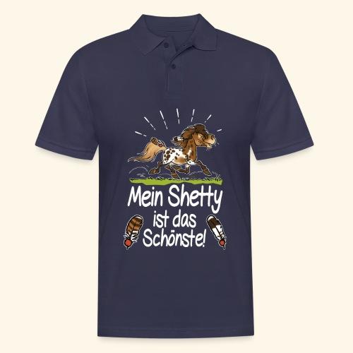 Mein Shetty das Schönste (Text weiss) - Polo Homme