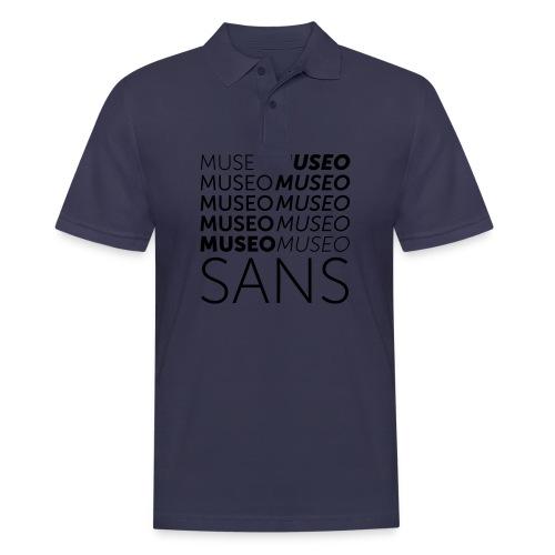 museo sans - Men's Polo Shirt