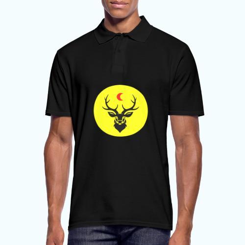 Hipster deer - Men's Polo Shirt