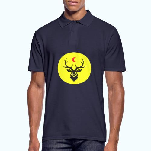 Hipster deer - Men's Polo Shirt