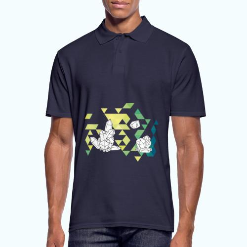 Geometric crystals - Men's Polo Shirt
