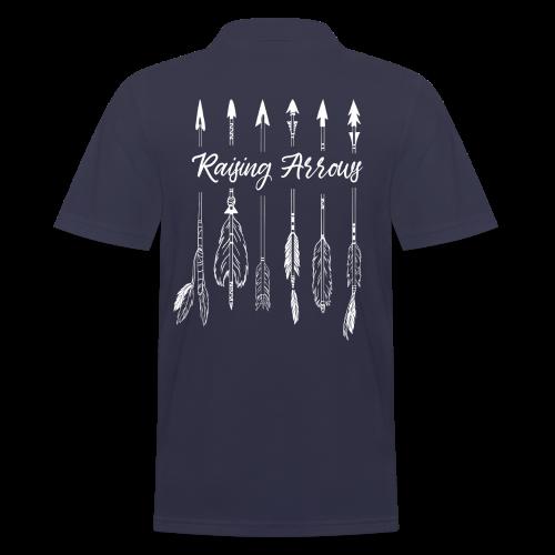 Raising Arrows - Männer Poloshirt