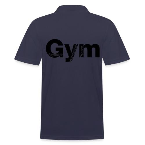 Gym Black - Männer Poloshirt