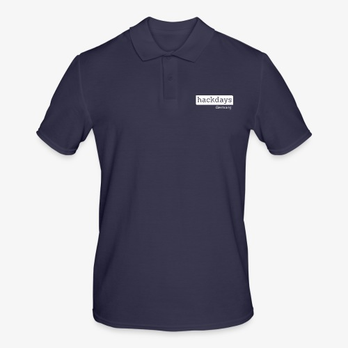 Hackdays - White Logo - Men's Polo Shirt
