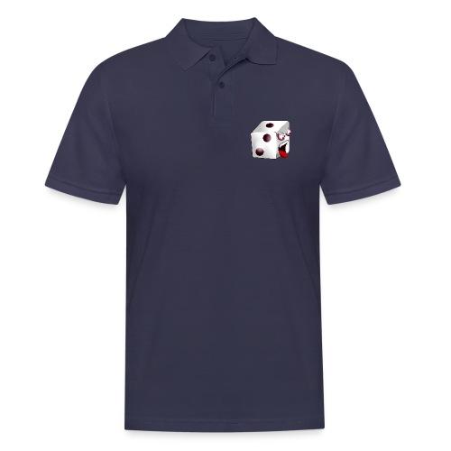 TBG - Logo + Würfelzilla (R) - Männer Poloshirt