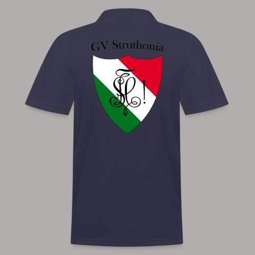 Wappen Struthonia beschriftet - Männer Poloshirt