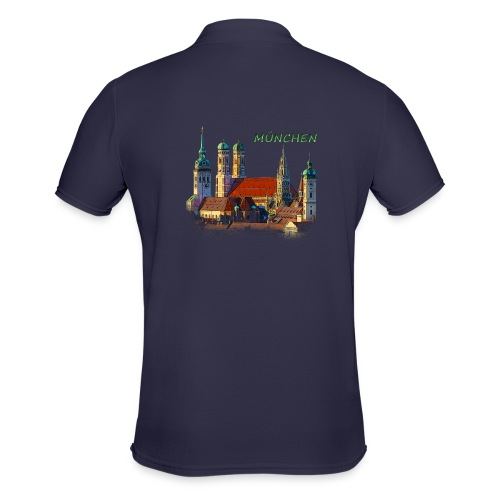 München Frauenkirche - Männer Poloshirt