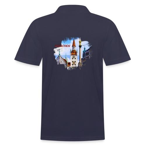 München Spielzeugmuseum und Altes Rathaus - Männer Poloshirt