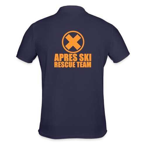 APRES SKI RESCUE TEAM - Polo Homme