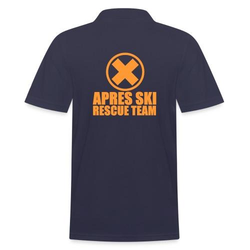 APRES SKI RESCUE TEAM - Männer Poloshirt
