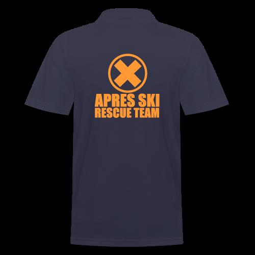 APRES SKI RESCUE TEAM - Men's Polo Shirt
