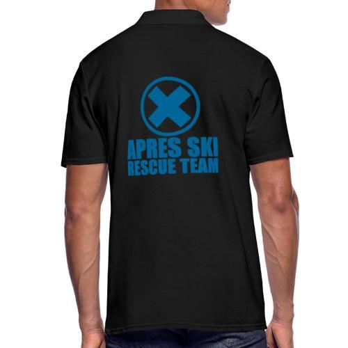 apres-ski rescue team - Mannen poloshirt