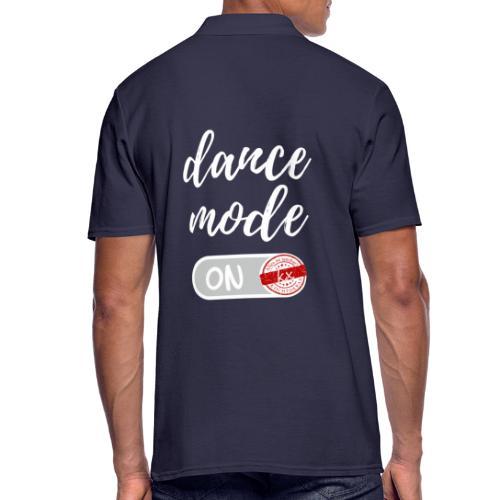 dance mode w - Männer Poloshirt