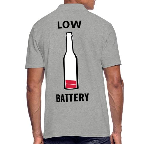 Beer Low Battery - Polo Homme