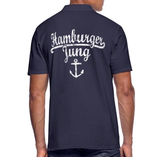 Hamburger Jung Klassik (Vintage Weiss) Hamburg - Männer Poloshirt