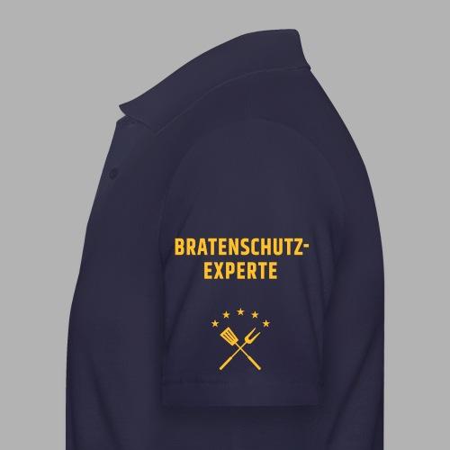 EU Bratenschutz-Experte - Männer Poloshirt