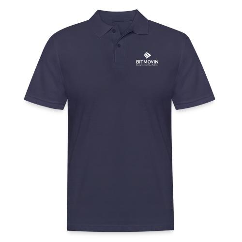 bitmovin logo standard - Männer Poloshirt