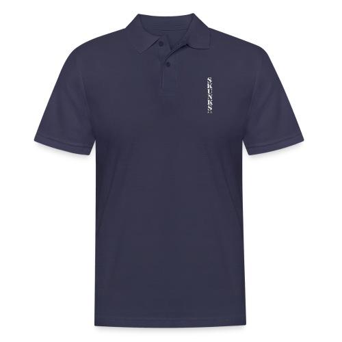 SKUNK_Schrift_Hochkant_08 - Männer Poloshirt