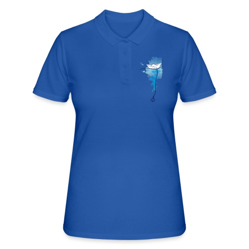 Papierschiff - Frauen Polo Shirt