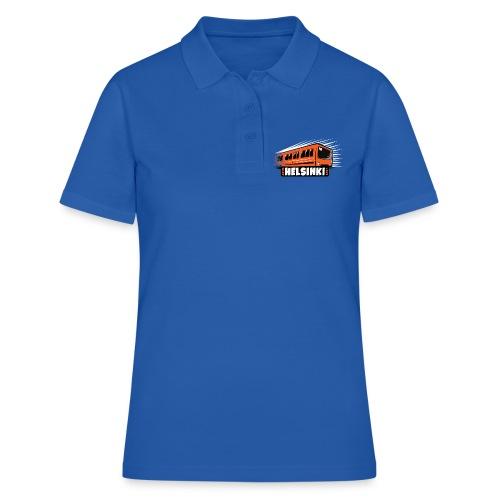 Helsinki Metro T-Shirts, Hoodies, Clothes, Gifts - Naisten pikeepaita