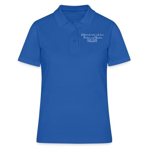 Kein Problem mit Pferden - Frauen Polo Shirt