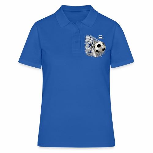 FP22F 05 FINLAND FOOTBALL - Women's Polo Shirt