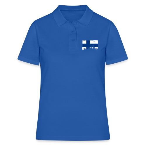 Suomen lippu, Finnish flag T-shirts 151 Products - Naisten pikeepaita