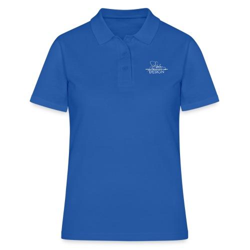 sasealey design logo wht png - Women's Polo Shirt