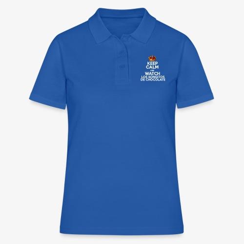 KEEP CALM AND WATCH LOS KONGITOS DE CHOCOLATE - Camiseta polo mujer
