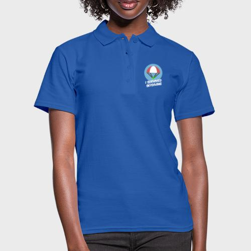 I survived Skydiving - Frauen Polo Shirt
