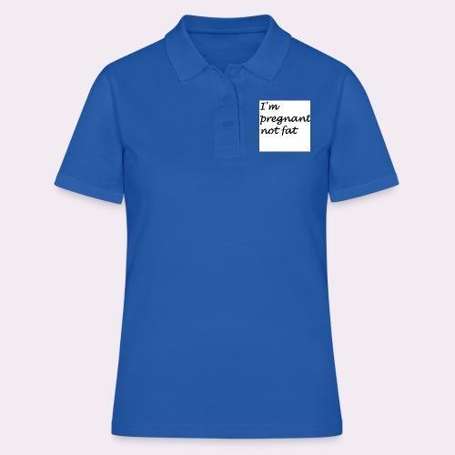I'm pregnant - Women's Polo Shirt