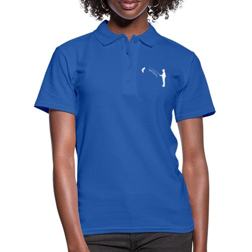 Angler gone fishing - Frauen Polo Shirt