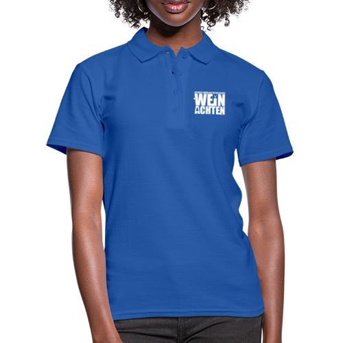 Du sollst den achten WEIN ACHTEN - Frauen Polo Shirt